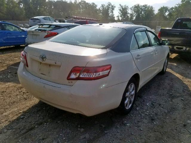 2011 Toyota Camry 2.5L rear view
