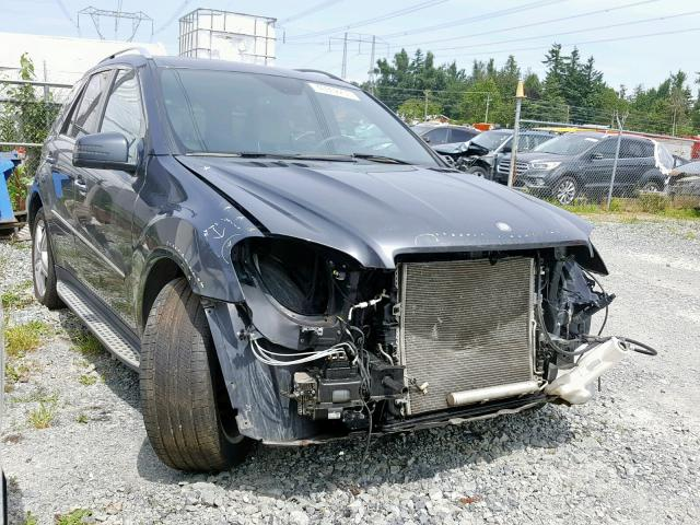 Mercedes-Benz salvage cars for sale: 2011 Mercedes-Benz ML 550 4matic