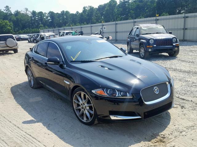 Salvage 2012 Jaguar XF SUPERCH for sale