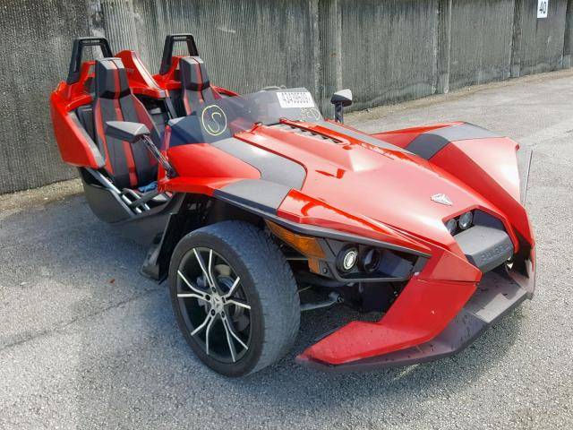 Salvage cars for sale from Copart Opa Locka, FL: 2015 Polaris Slingshot