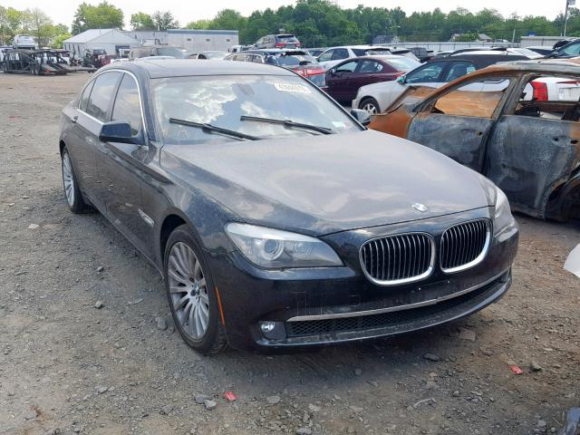 BMW 750 LXI salvage cars for sale: 2012 BMW 750 LXI