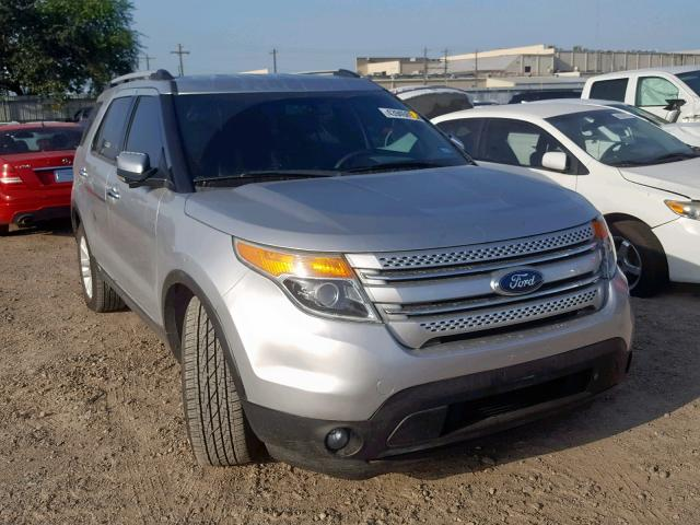 Salvage cars for sale from Copart Mercedes, TX: 2011 Ford Explorer X