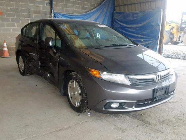 Honda Civic Hf >> 2012 Honda Civic Hf 1 8l 4 For Sale In Cartersville Ga Lot 44024889