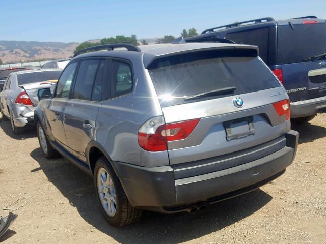 2004 Bmw X3 2 5i 2 5l 6 For Sale In San Martin Ca Lot 44062169