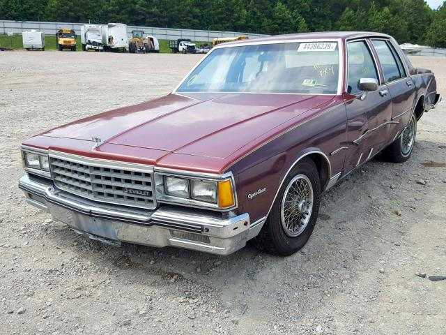 1984 Chevrolet Caprice Cl 5 0L 8 for Sale in Charles City VA - Lot: 44386239