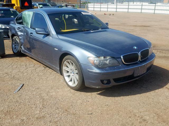 2006 Bmw 750 Li 4.8L