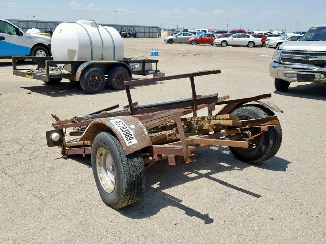 Homemade Trailer salvage cars for sale: 2010 Homemade Trailer