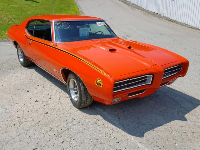 Salvage 1969 Pontiac GTO for sale