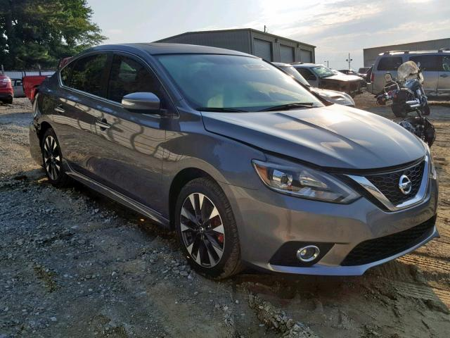 Salvage 2017 Nissan SENTRA SR for sale