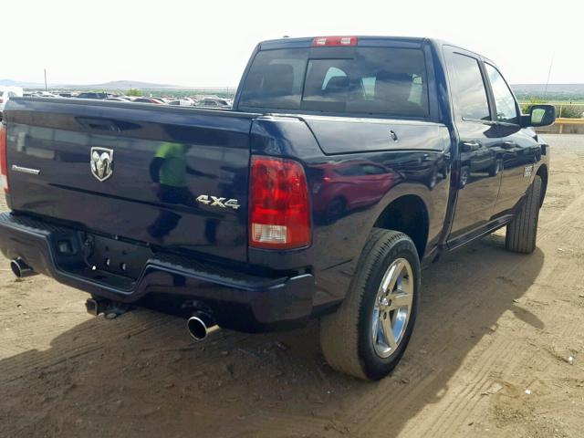 1C6RR7LT6ES134333 - 2014 Ram 1500 Slt 5.7L rear view