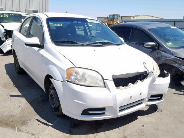 2010 Chevrolet Aveo Ls 1 6l 4 For Sale In Fresno Ca Lot 44576829