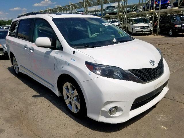 Salvage 2013 Toyota SIENNA SPORT for sale
