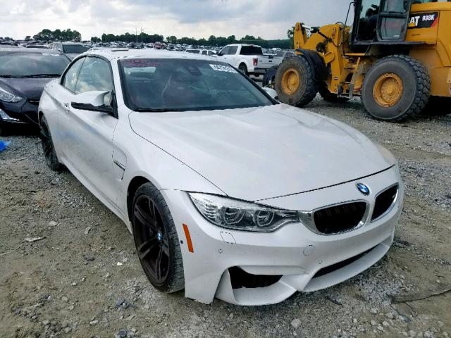 Salvage 2016 BMW M4 for sale