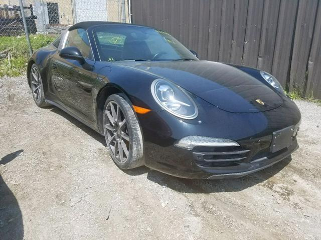 Salvage 2015 Porsche 911 TARGA for sale