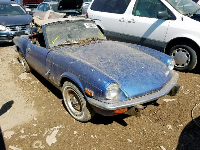 Triumph Spitfire salvage cars for sale: 1973 Triumph Spitfire