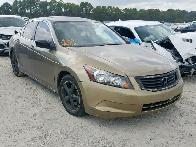 Salvage cars for sale from Copart Houston, TX: 2009 Honda Accord EXL