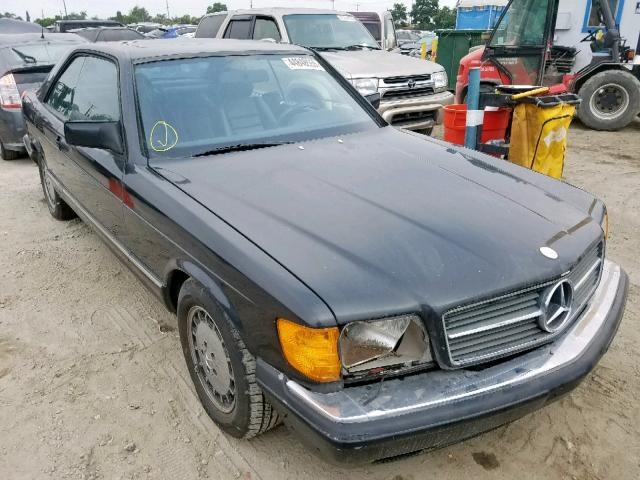 Salvage 1985 Mercedes-Benz 500 SEC for sale
