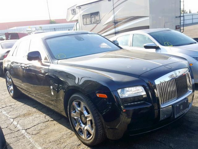 Salvage 2011 Rolls-Royce GHOST for sale