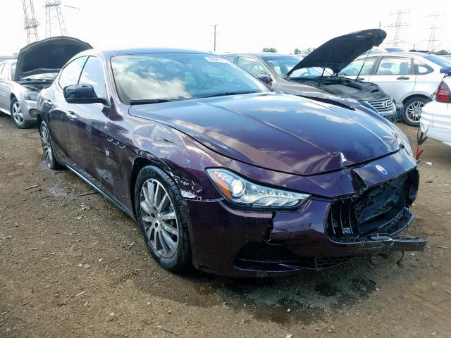 click here to view 2014 MASERATI GHIBLI S at IBIDSAFELY