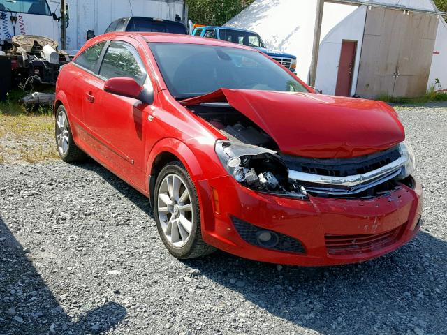 Saturn salvage cars for sale: 2009 Saturn Astra XR