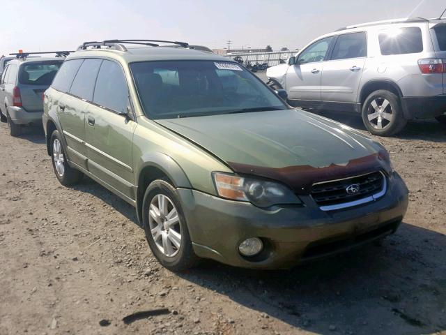4S4BP61C957339284 2005 Subaru Legacy Out in WA