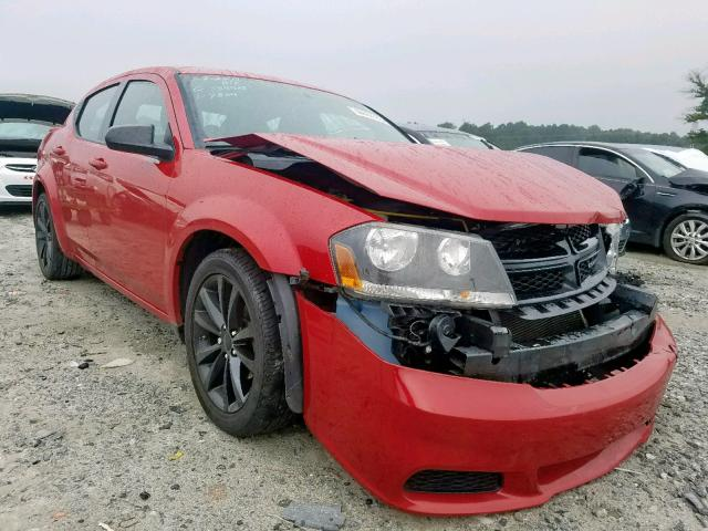 Salvage cars for sale from Copart Loganville, GA: 2014 Dodge Avenger SE