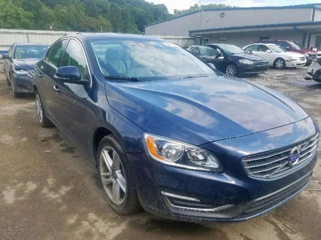 Yv1612tk9f1350613 2015 Volvo S60 Premie In Pa Pittsburgh North
