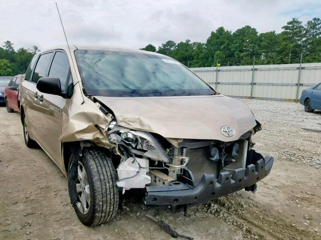 Salvage 2011 Toyota SIENNA BASE for sale