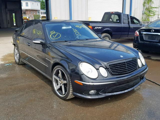 Salvage 2006 Mercedes-Benz E 55 AMG for sale