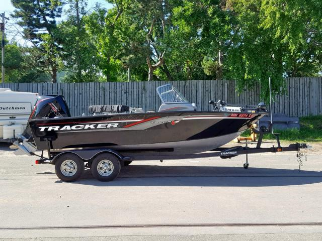 Tracker salvage cars for sale: 2019 Tracker Marine Trailer