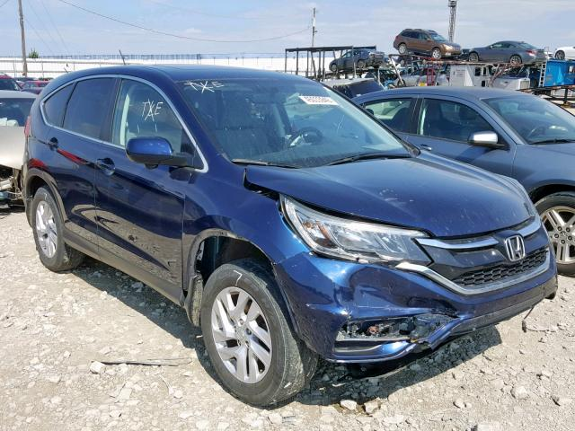 Salvage cars for sale from Copart Columbus, OH: 2015 Honda CR-V EX