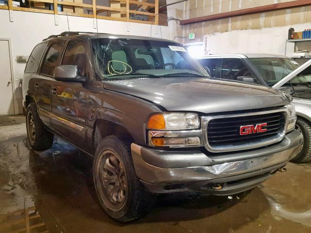 GMC salvage cars for sale: 2001 GMC Yukon