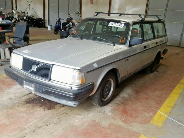 1992 Volvo 240 2 3L 4 for Sale in Lyman ME - Lot: 44914149