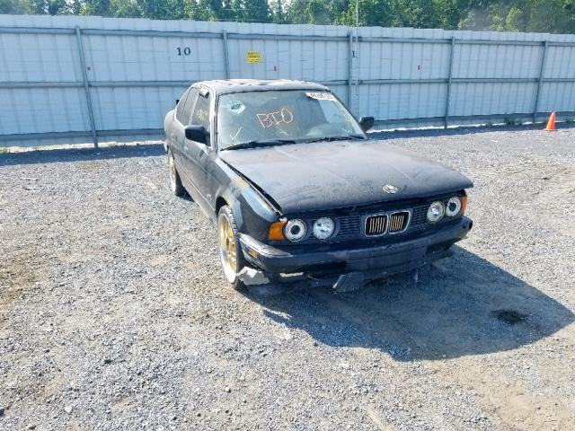BMW 525 I Automatic salvage cars for sale: 1990 BMW 525 I Automatic