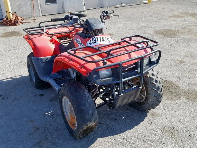 Salvage 2000 Honda TRX350 TE for sale