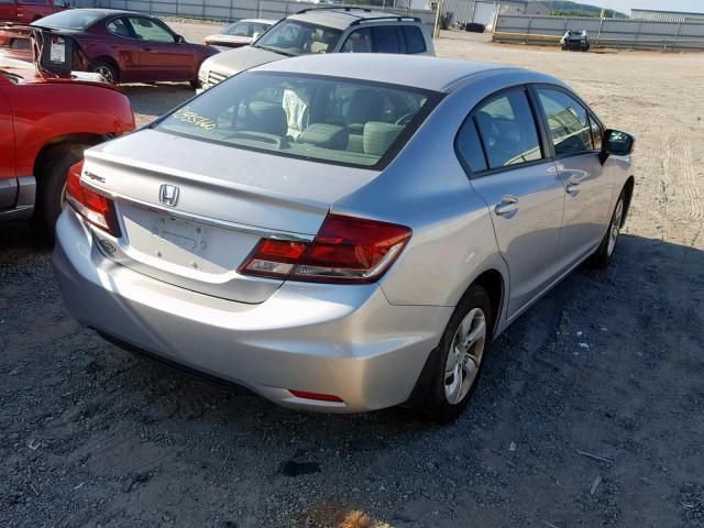 цена в сша 2015 Honda Civic Lx 1.8L 19XFB2F57FE065527