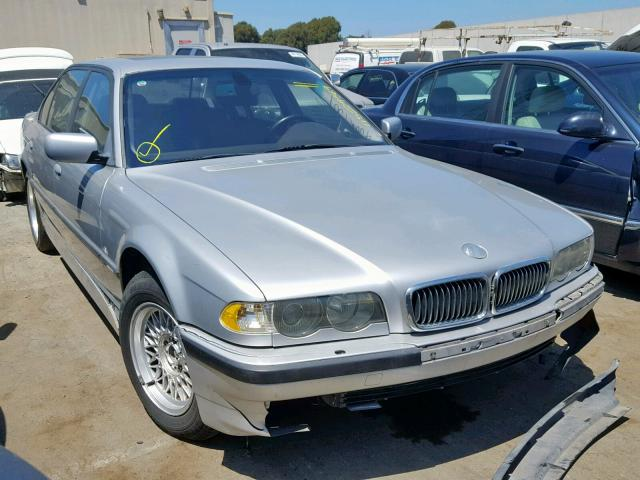 Salvage 2001 BMW 740 IL for sale