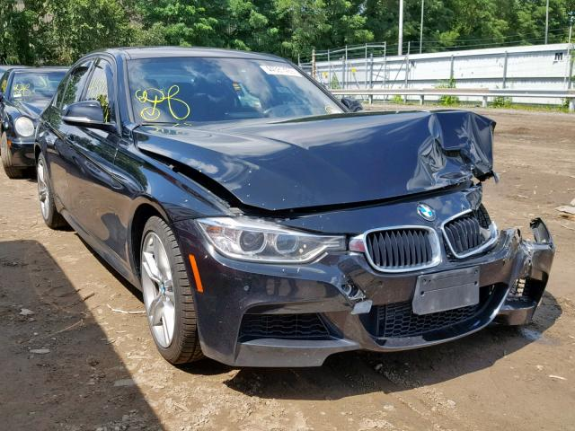 Salvage 2014 BMW 335 XI for sale