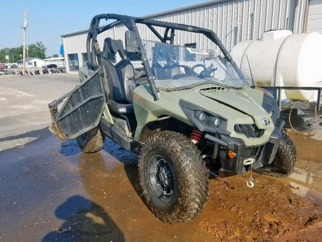 Salvage 2018 Can-Am COMMANDER for sale
