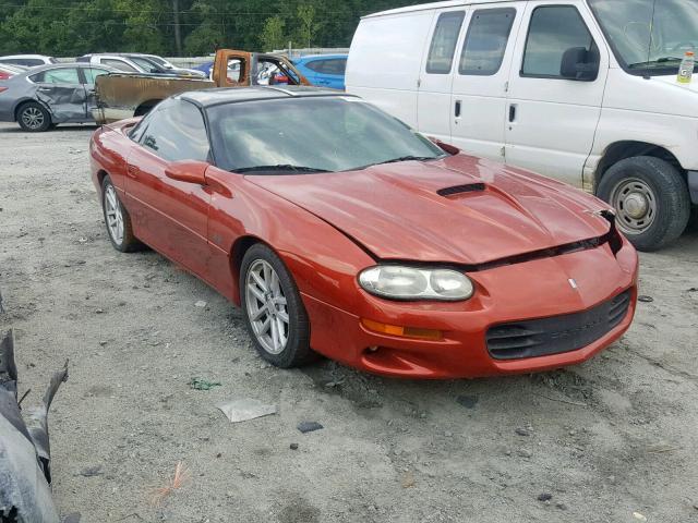 Salvage 2002 Chevrolet CAMARO Z28 for sale