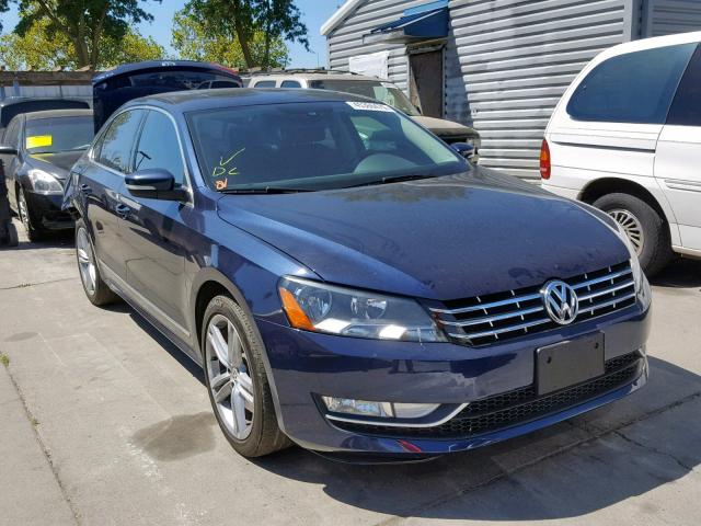 click here to view 2015 VOLKSWAGEN PASSAT SEL at IBIDSAFELY
