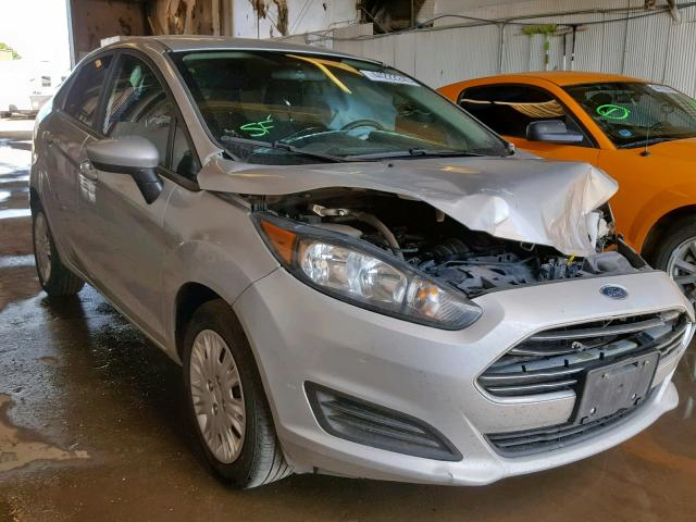 Salvage cars for sale from Copart Casper, WY: 2016 Ford Fiesta S