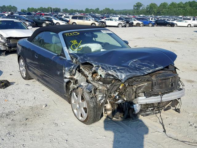 Salvage 2005 Audi A4 1.8 CABRIOLET for sale