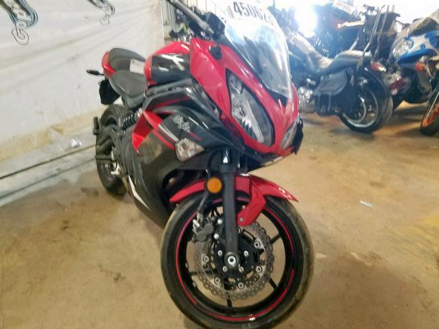 Salvage 2016 Kawasaki EX650 E for sale