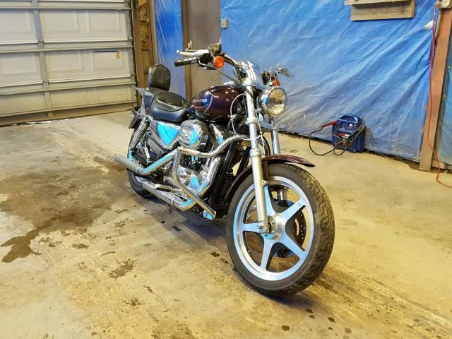 Harley-Davidson XL1200 C salvage cars for sale: 2006 Harley-Davidson XL1200 C
