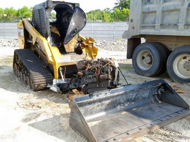 Caterpillar salvage cars for sale: 2018 Caterpillar 277D