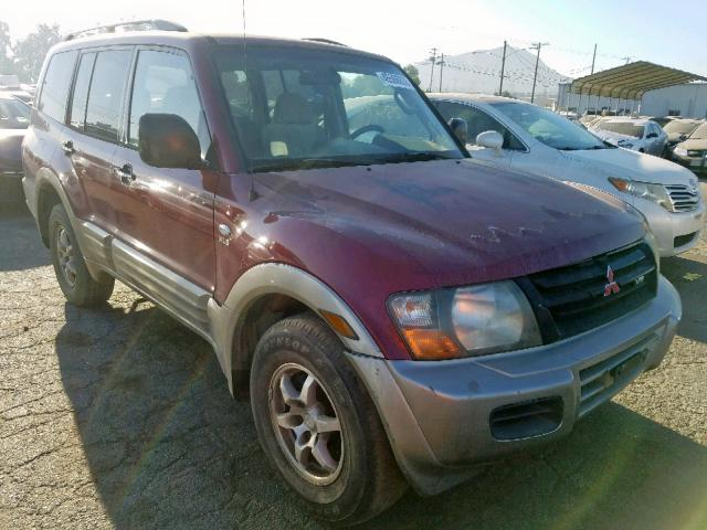 click here to view 2001 MITSUBISHI MONTERO XL at IBIDSAFELY