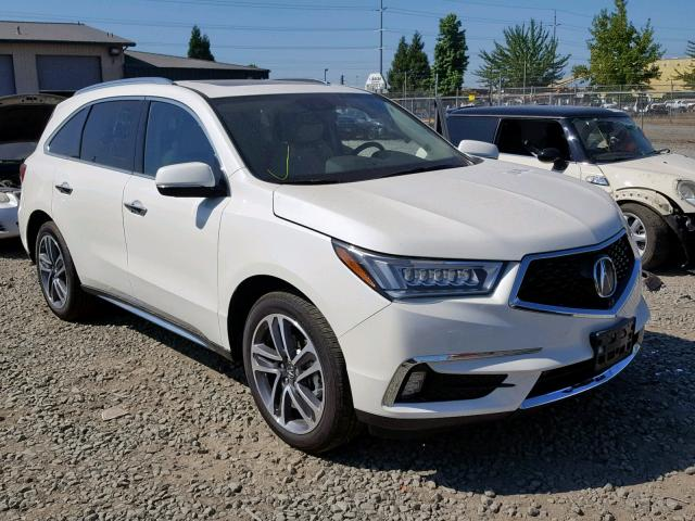 ACURA MDX ADVANCE 2017 фото