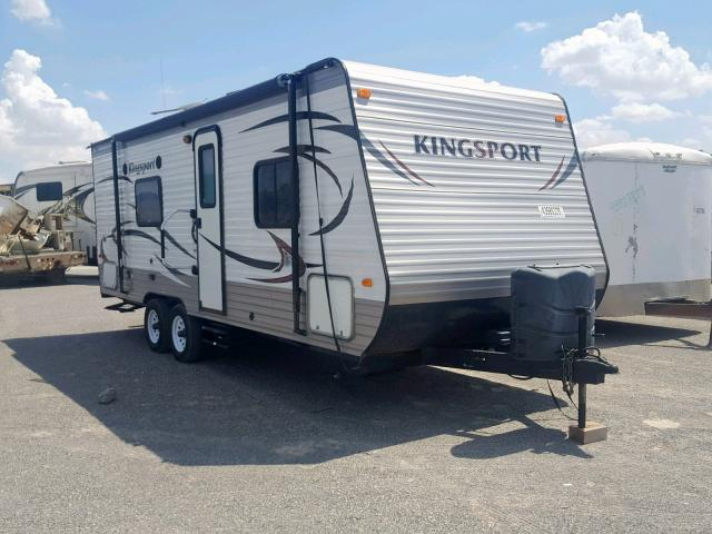Salvage 2015 Kingdom TRAILER for sale