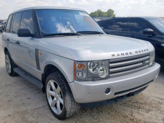 Salvage cars for sale from Copart Houston, TX: 2003 Land Rover Range Rover